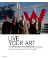 W Hollywood Live your art